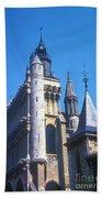 Notre Dame De Dijon Beach Towel