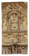 Notre Dame Detail Beach Towel