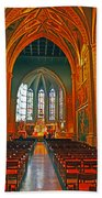 Notre Dame Of Luxembourg Beach Towel