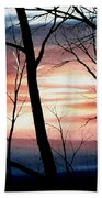 November Lace Beach Towel