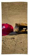 Now Pitching For The Phillies Beach Towel