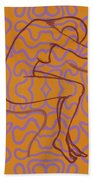 Nude 13 Beach Towel