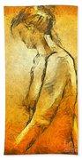 Nude Viii Beach Towel