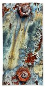 Nuts And Rivets  Beach Towel