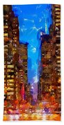 Nyc 4 Beach Towel