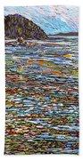 Oak Bay - Low Tide Beach Towel