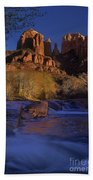 Oak Creek Crossing Sedona Arizona Beach Towel