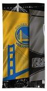 Oakland Sports Teams Beach Towel