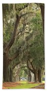 Oaks Of Georgia Beach Towel