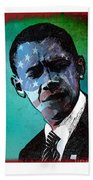 Obama-4 Beach Towel