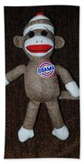 Obama Sock Monkey Beach Towel