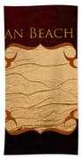 Ocean Beach Art Gallery Beach Towel