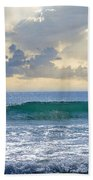Ocean Blue Beach Towel