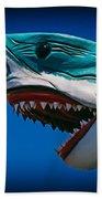 Ocean City Shark Attack Beach Towel