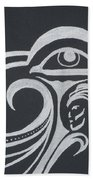 Ocean Eagle Eye Beach Towel