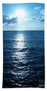 Ocean Fall Beach Towel