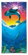 Ocean Freedom Beach Towel