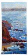 Ocean Light Beach Towel