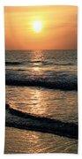 Ocean Sunrise Over Myrtle Beach Beach Towel