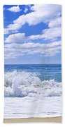Ocean Surf Beach Towel by Elena Elisseeva
