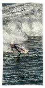 Oceanside Surfer 3 Beach Towel