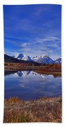 October At Oxbow Beach Towel