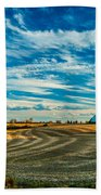 October Patterns Beach Towel