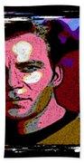 Ode To Star Trek Beach Towel by John Malone