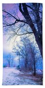 Of Dreams And Winter Beach Towel