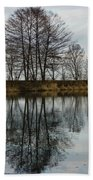 Of Mirrors And Trees Beach Towel