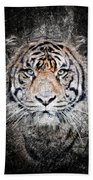 Of Tigers And Stone Beach Towel