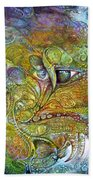 Offspring Of Tiamat - The Fomorii Union Beach Towel by Otto Rapp