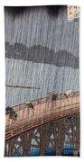 Ohashi Sudden Shower At Atake Beach Towel