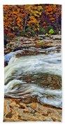 Ohiopyle Falls 2 Beach Towel