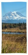 Ohop Valley Of Layers Beach Towel