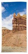 Ojitos De Los Gatos Panorama - New Mexico Beach Towel