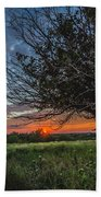 Oklahoma Sunset Beach Towel