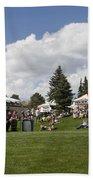 Oktoberfest Woodland Park 2014 Beach Towel