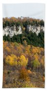 Old Baldy In Fall Beach Towel