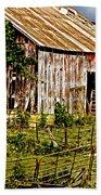 Old Barn #3 Beach Towel