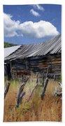 Old Barn Las Trampas New Mexico Beach Towel
