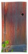 Old Barn Wood Beach Towel