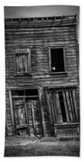 Old Bodie Building Beach Sheet