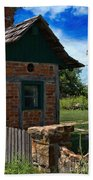 Old Brick Shed Beach Towel