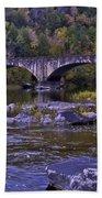 Old Bridge Two Beach Towel