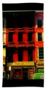 Old Buildings 6th Avenue - Vintage Nyc Architecture Beach Towel