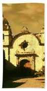 Old Carmel Mission - Watercolor Beach Towel