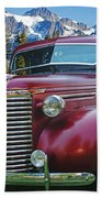 Old Chevy Pickup Ca5073-14 Beach Towel