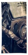 Old Chevy Truck Beach Towel