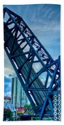 Old Chicago Draw Bridge Beach Towel